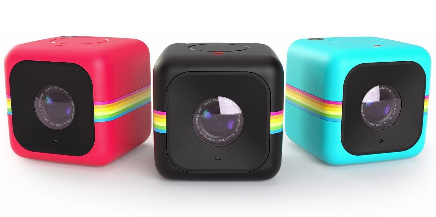 Tiny Polaroid cube video camera