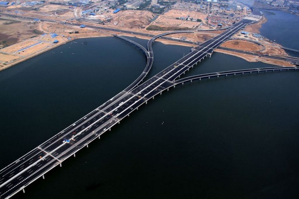 Jiaozhou Bay Bridges