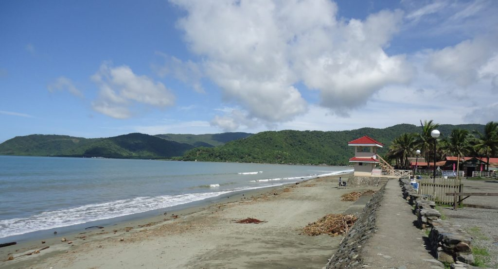 Sabang beach,Philippines