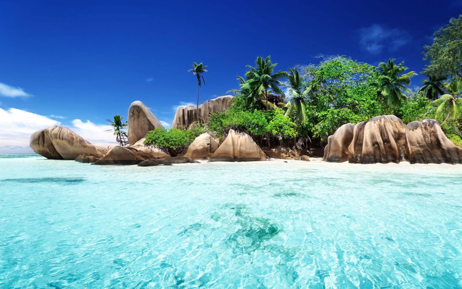 Фото самых красивых пляжей мира с описанием