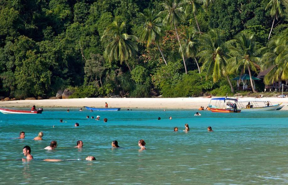Tekek beach, Malaysia