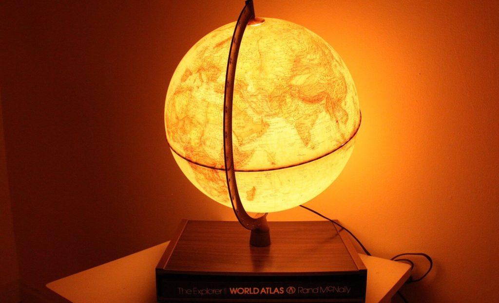 Vintage Globe Light