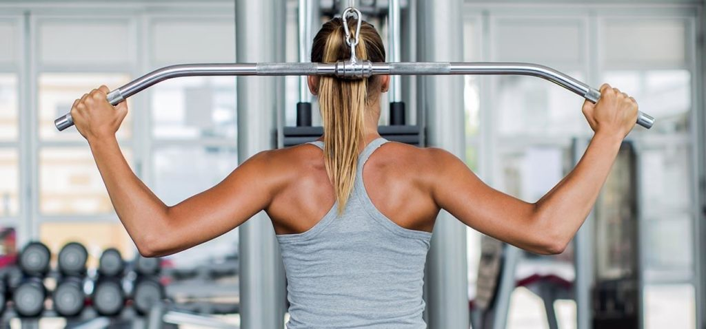 Behind-the-Neck Lat Pulldowns