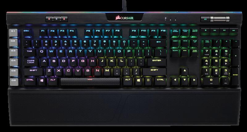 CORSAIR K95 RGB PLATINUM (The Best Gaming Keyboard 2018)