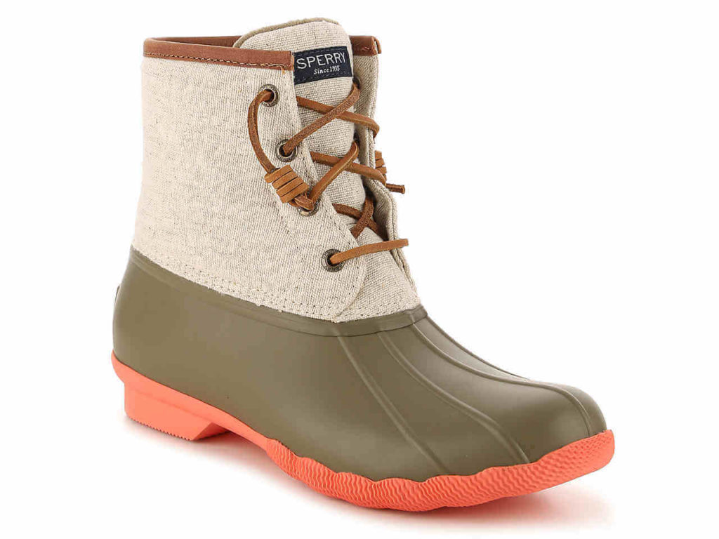 Canvas Duck Boot