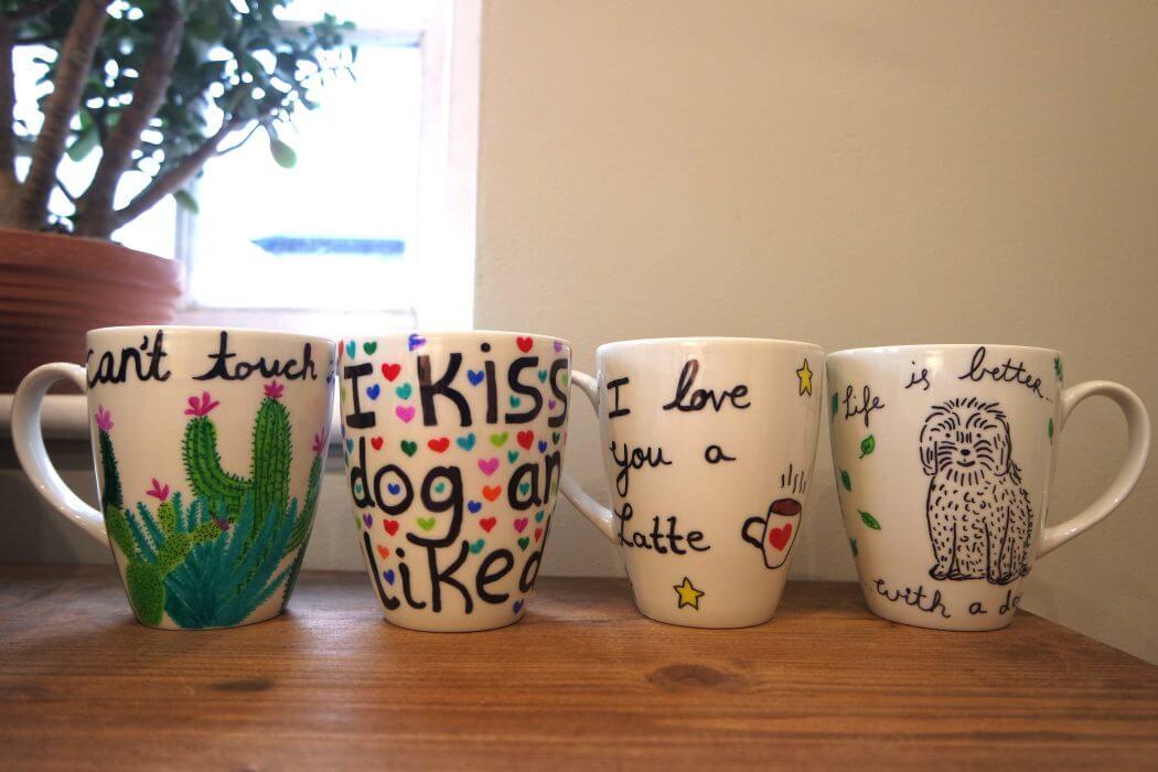 20 Cool Diy Sharpie Mug Ideas To Enhance Your Mug S