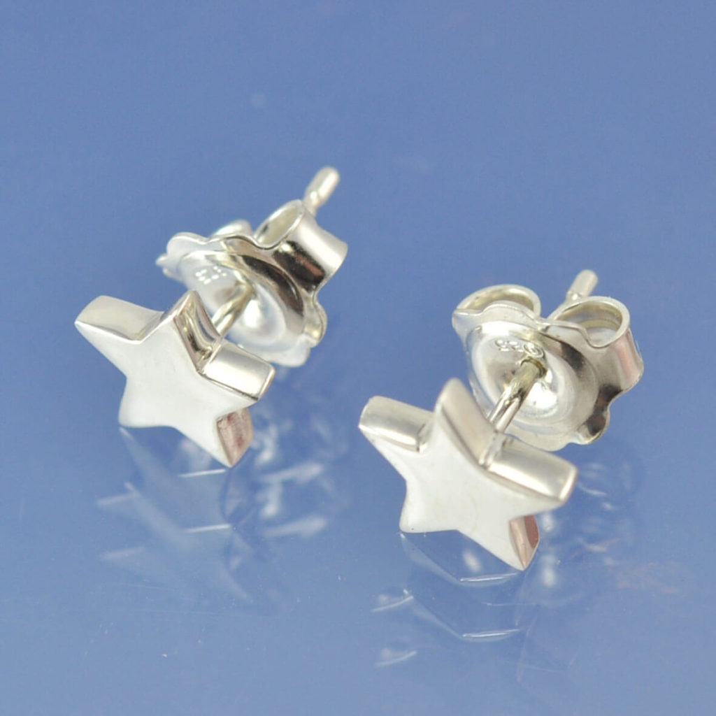 Teeny Tiny Initial Stud Earrings