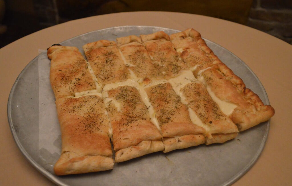 White Pizza – Old Forge Pizza