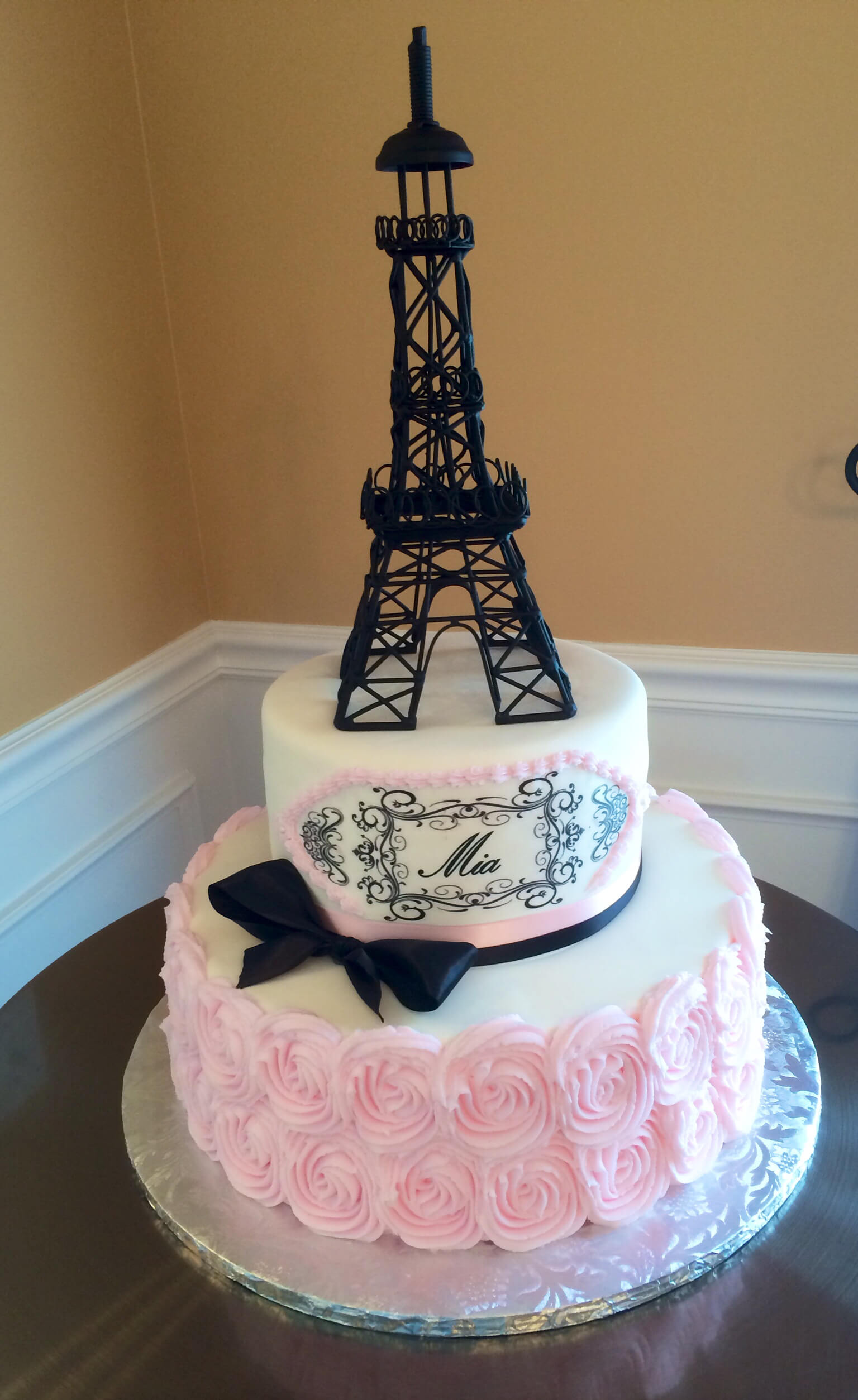 Eiffel Tower Birthday Cake Candles