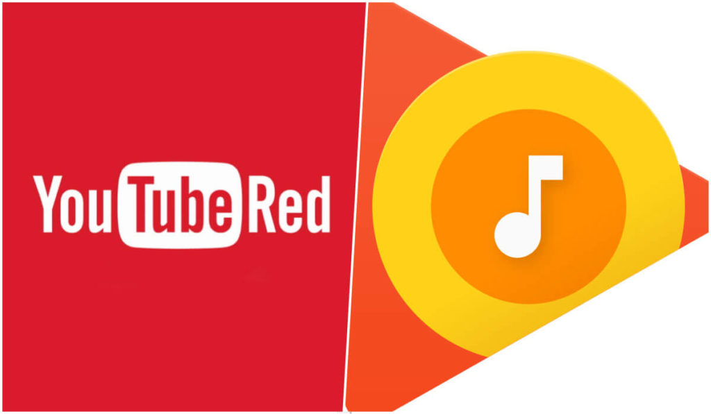 Google Play music and Youtube