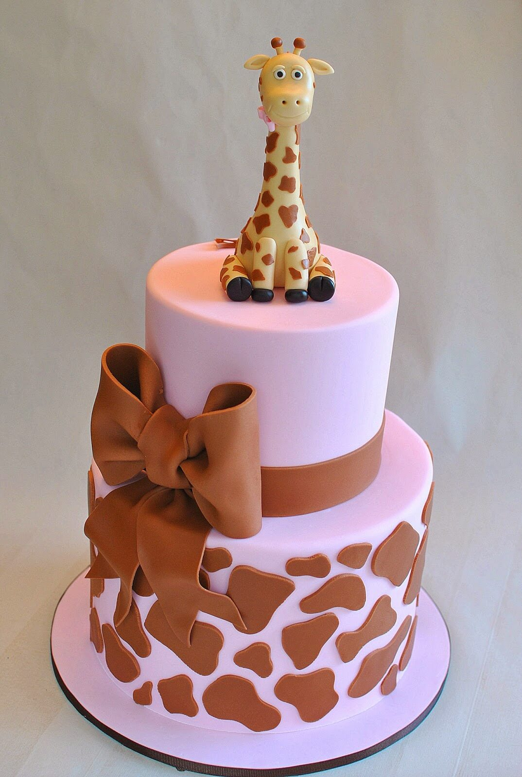 Over Sized Giraffe Cake