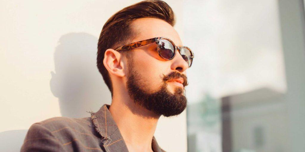 Shaped Cheek Line Beard