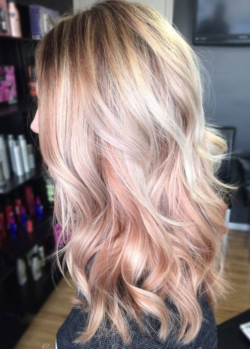 Two-Toned Blonde Hair