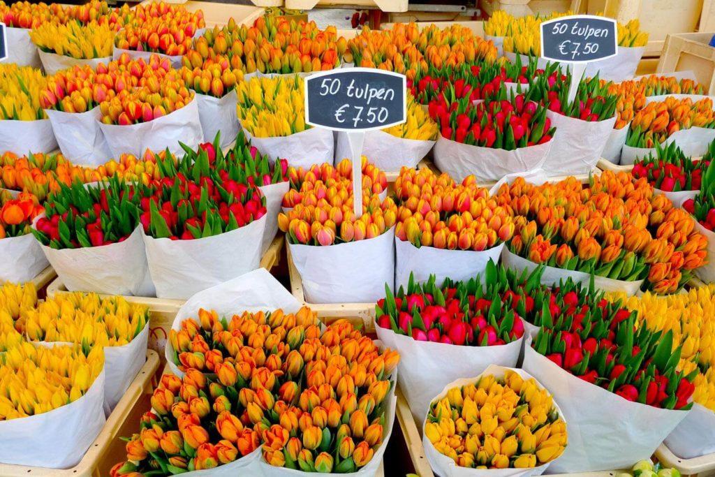 Visit The Famous Flower Market
