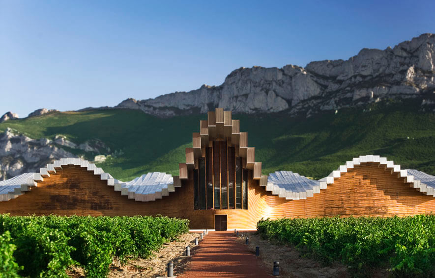 Campo Viejo Winery industrial architecture design