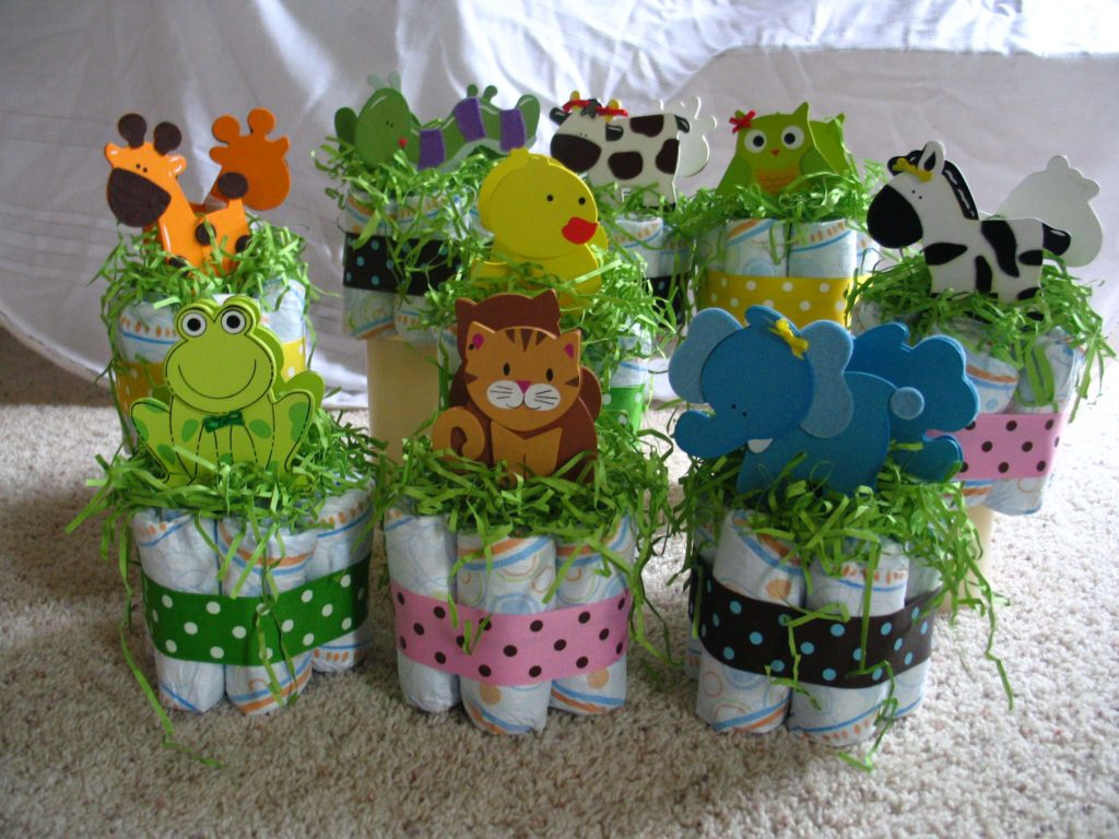 Cute Critters Centerpiece easter crafts