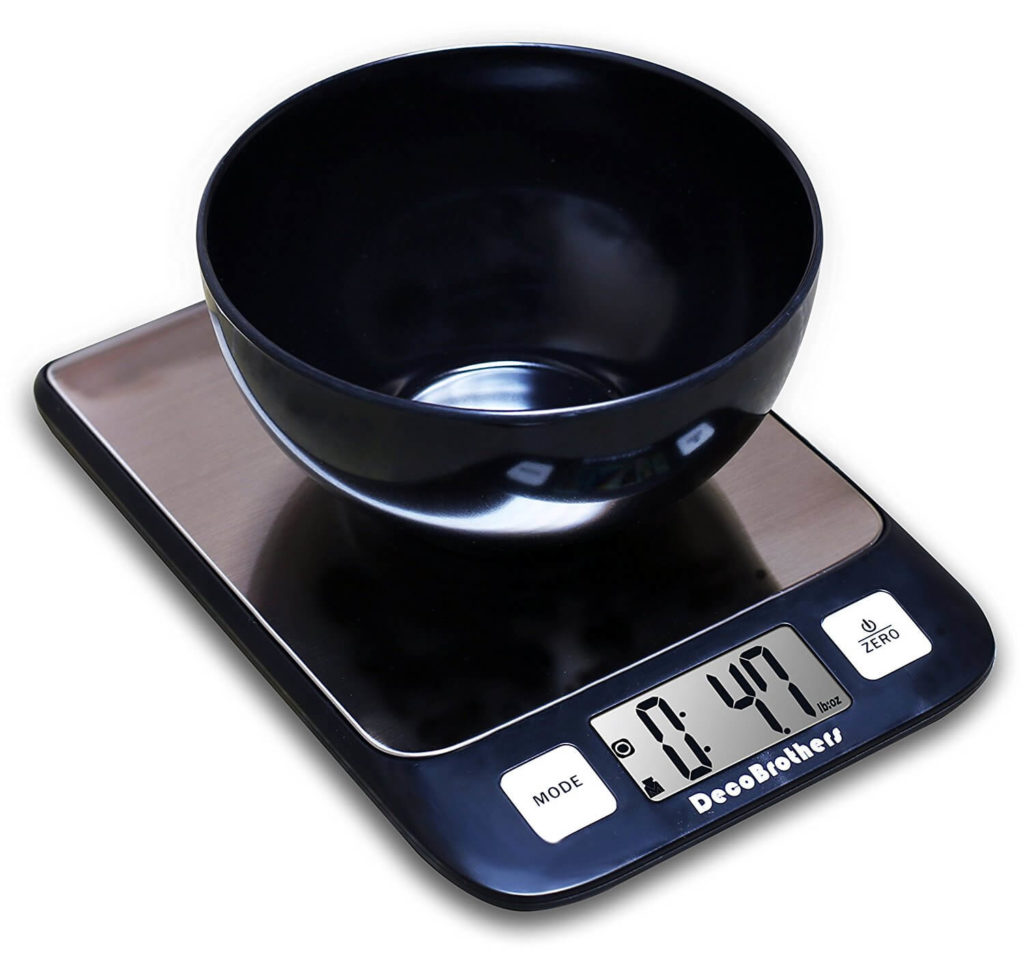 Decobros Stainless Digital Multifunction Kitchen Food Scale