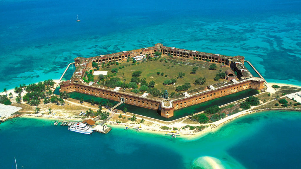 Dry Tortugas National Park most beautiful places To visit In florida