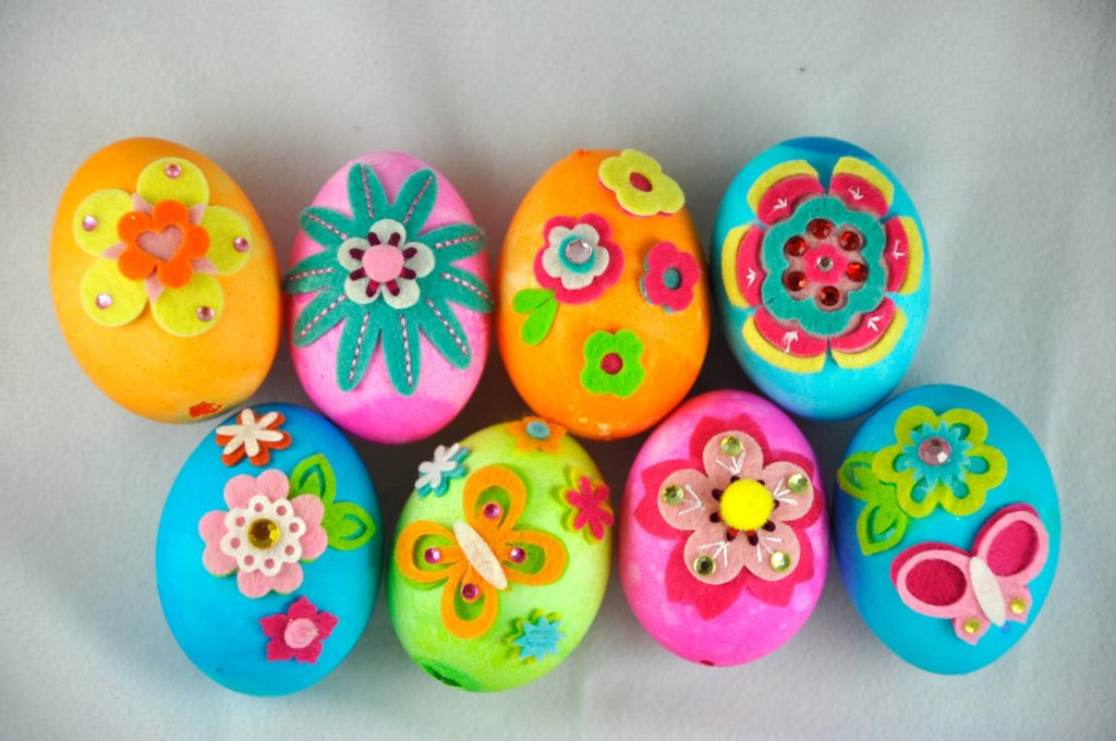 Easy easter crafts Eggs