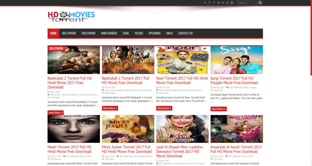 HD Torrent Movies-Hindi Movie Download Site