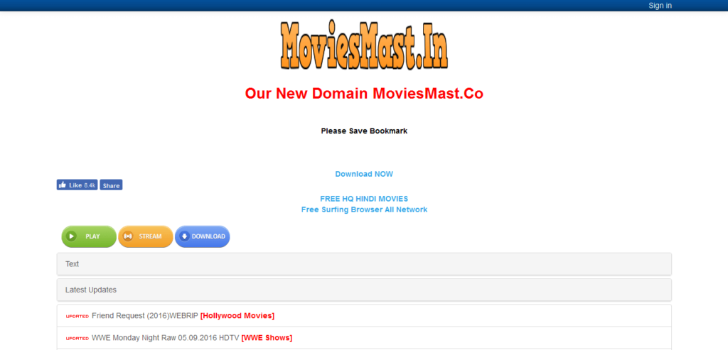 Moviesmast.in-Hindi Movie Download Site