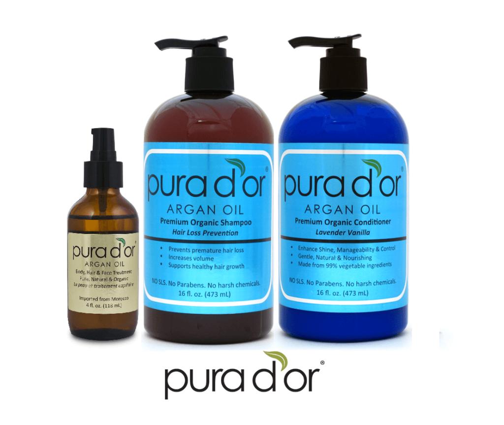 PURA D'OR Hair Loss Prevention hair growth shampoo