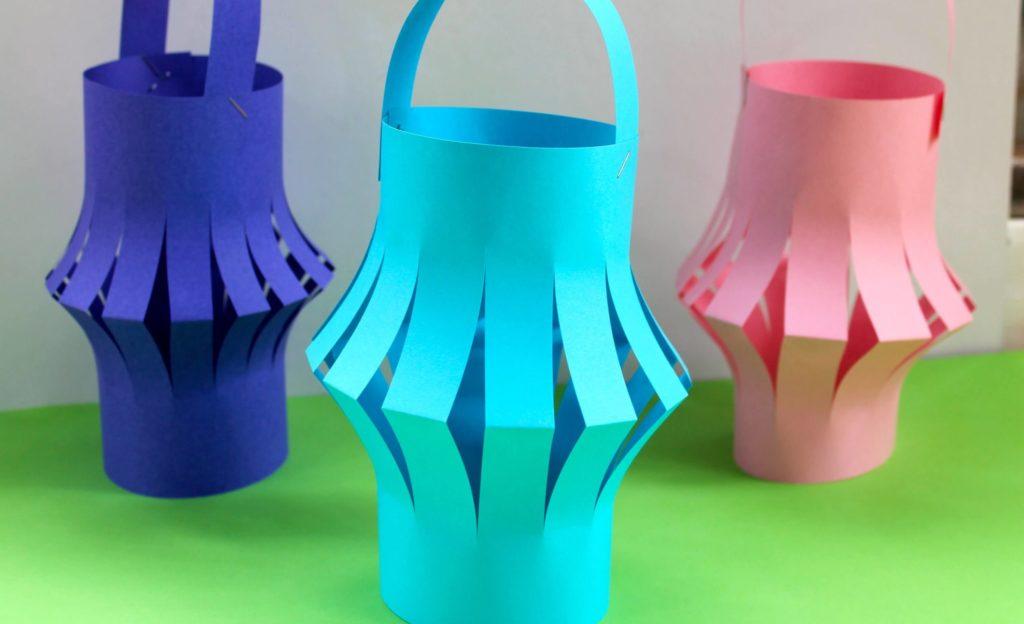 Paper Lantern diy paper crafts