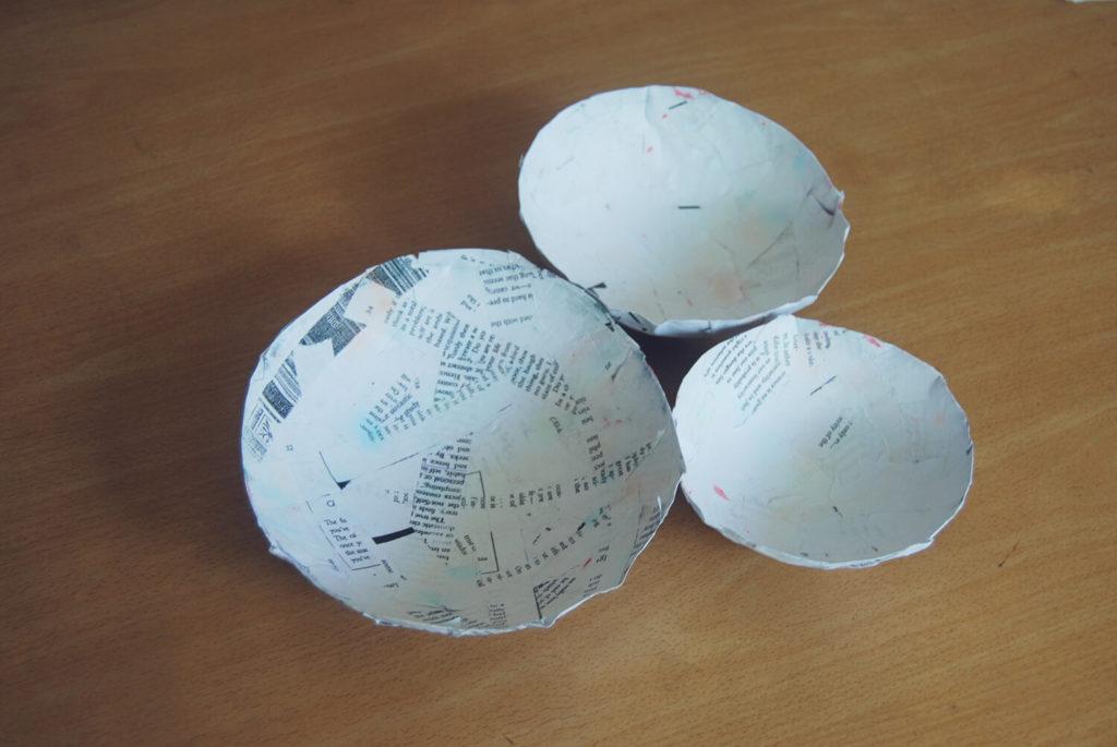 Paper mache bowl diy paper crafts