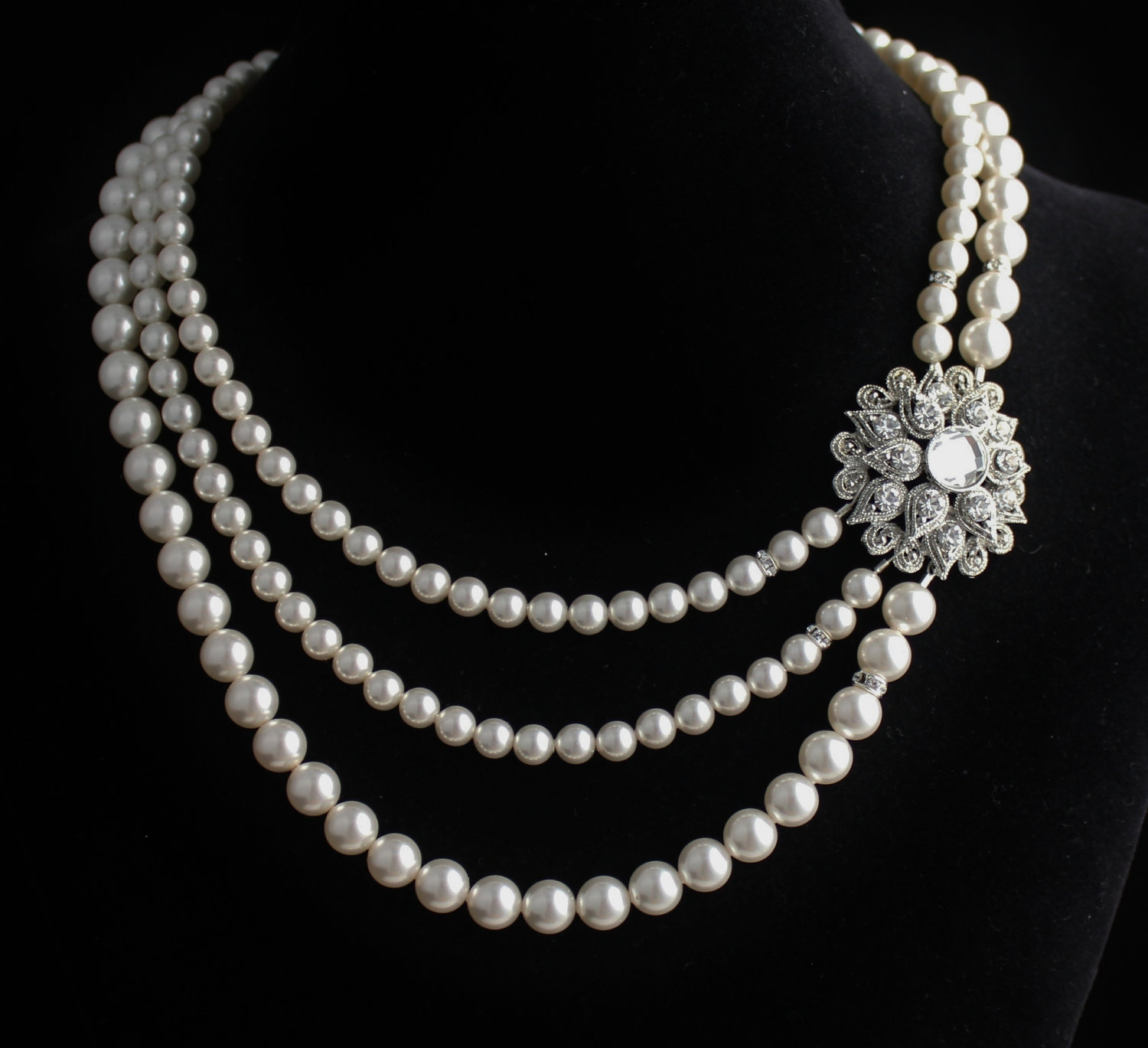 Top 6 pearl jewelry designs for unique elegance live enhanced source pearl necklaces aloadofball Choice Image