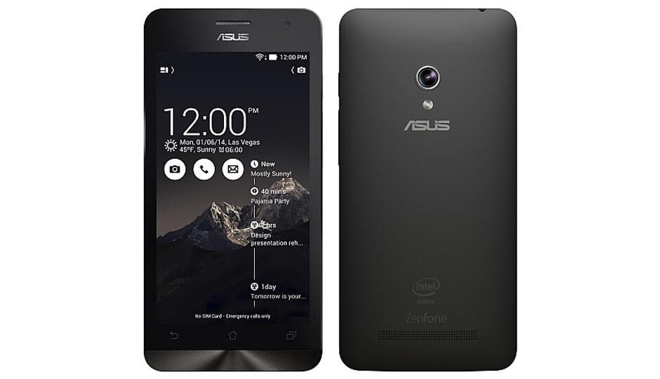 Asus Zenfone 5-dual lens camera