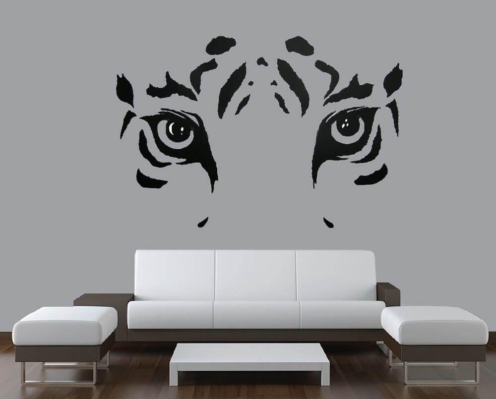 Best Lion & Women 3D wall paint