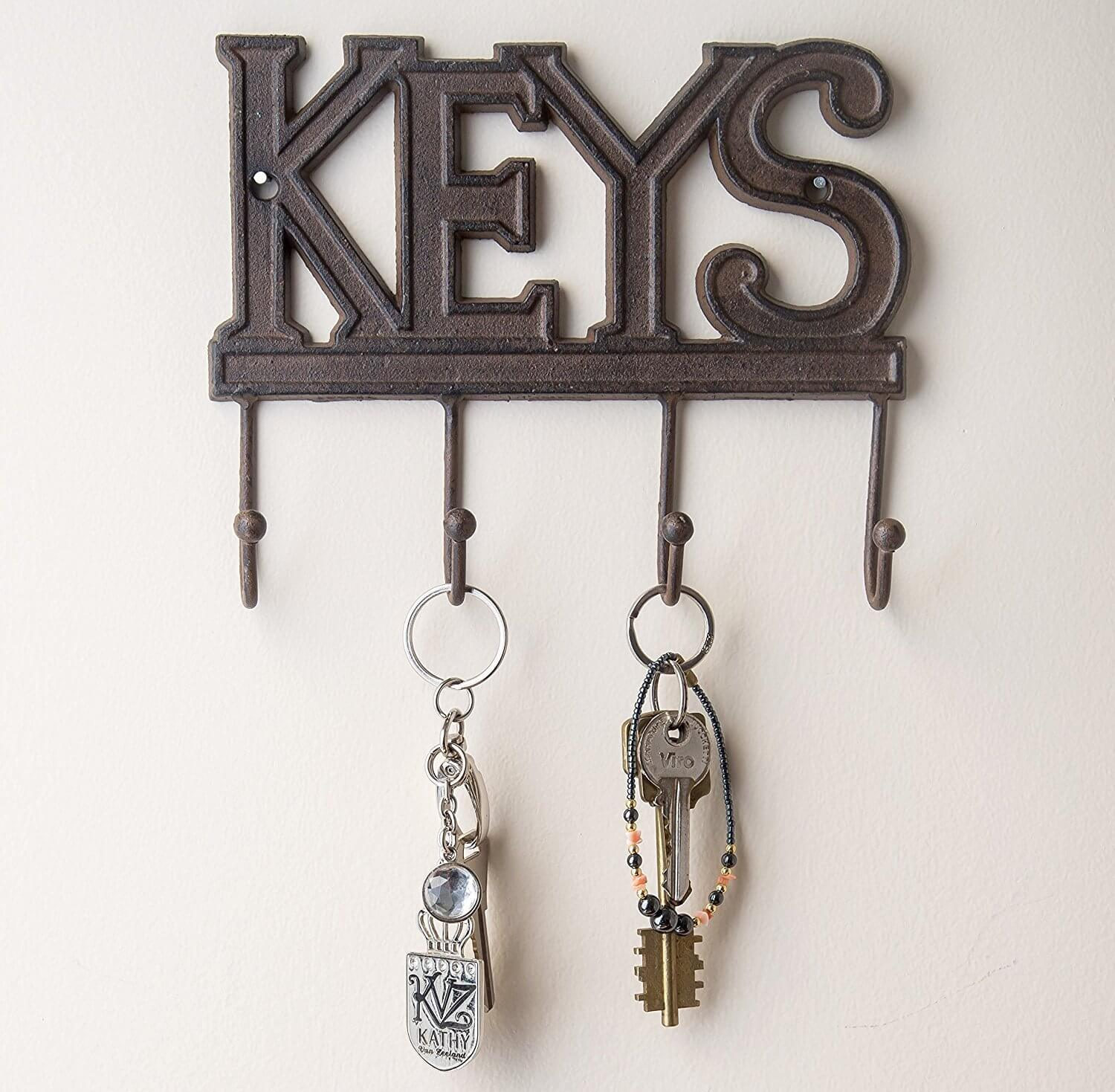 51 Diy Key Holders For Wall 19th Is Most Creative Live