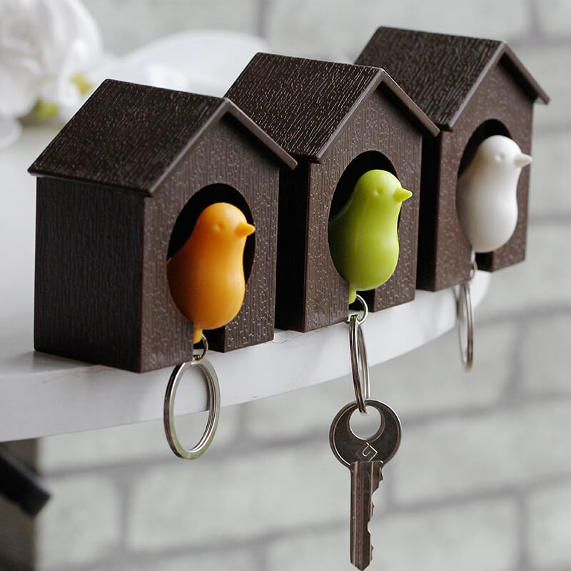 Birdhouse diy Key Holder