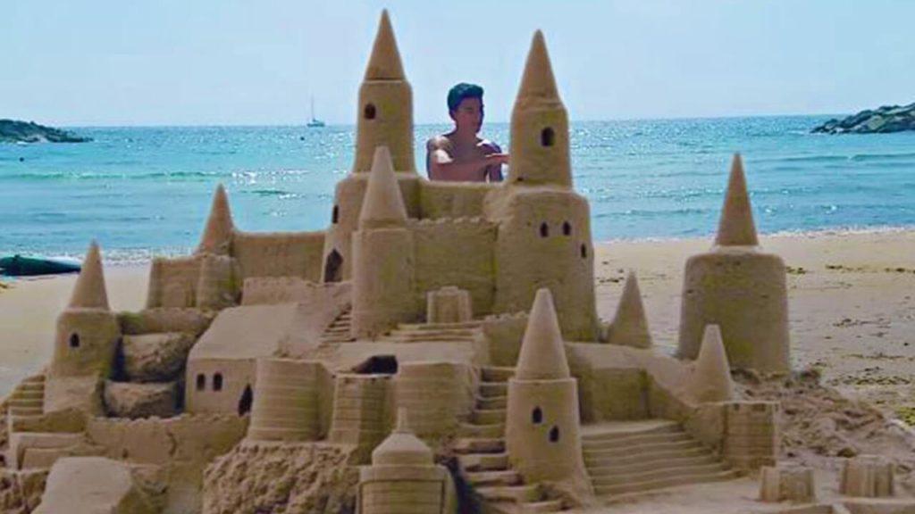 Build a Sand Castle-travel bucket list