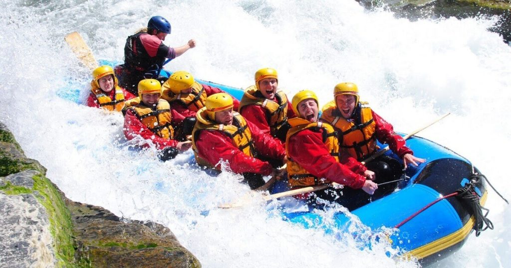 Go Whitewater Rafting-travel bucket list