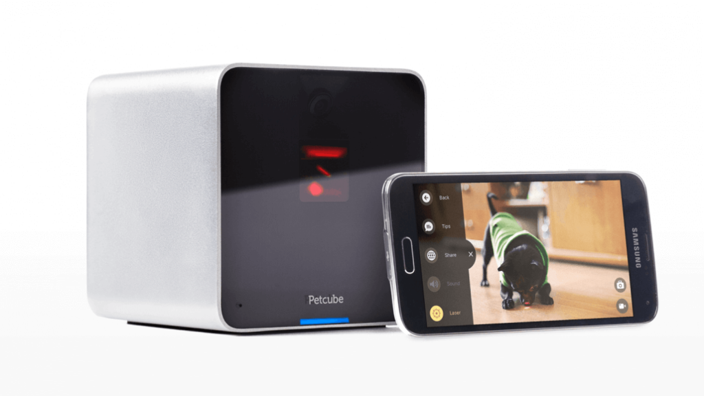 Petcube Interactive Wi-Fi Pet Camera - smart home devices