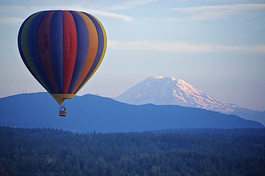 Ride In AhotAir Balloon-travel bucket list