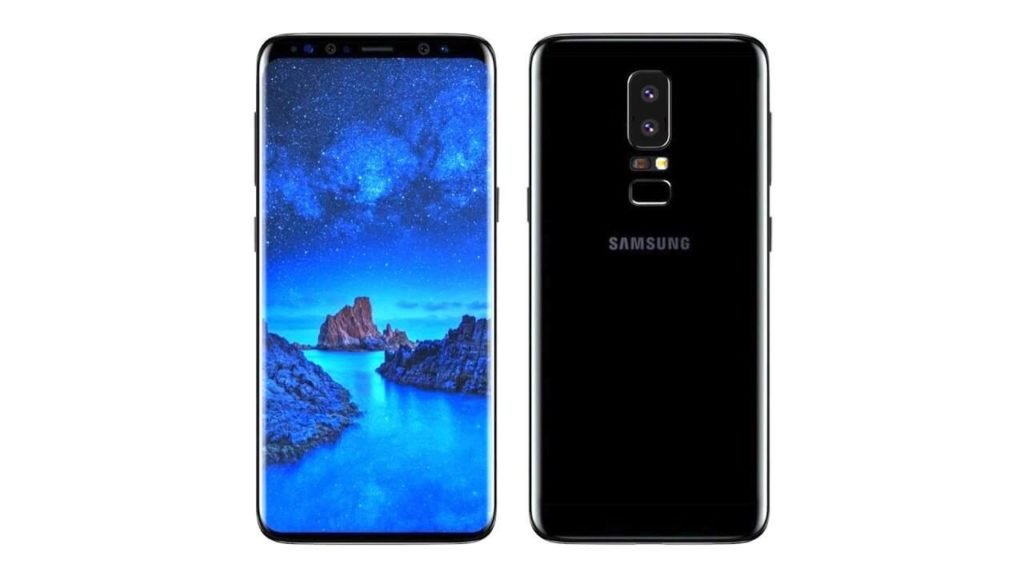 Samsung Galaxy S9 Plus-dual lens camera