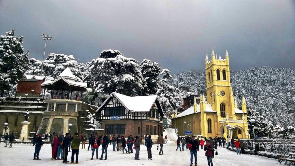 Shimla - tourist places in india