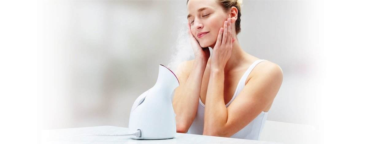 Use Facial Steamer