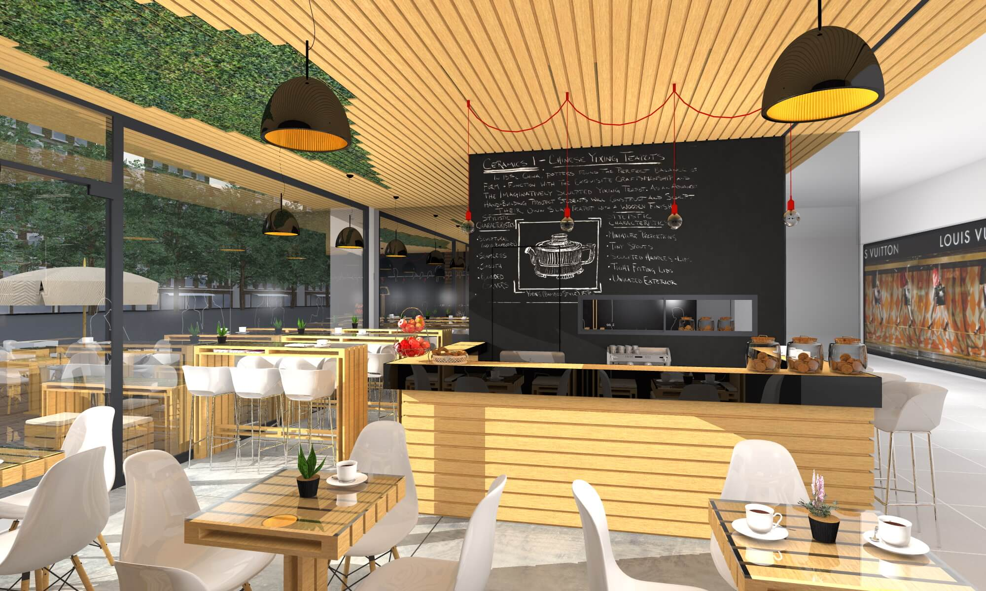 30 Coffee Shop Interior Design Ideas [Update List 2018] - Live Enhanced