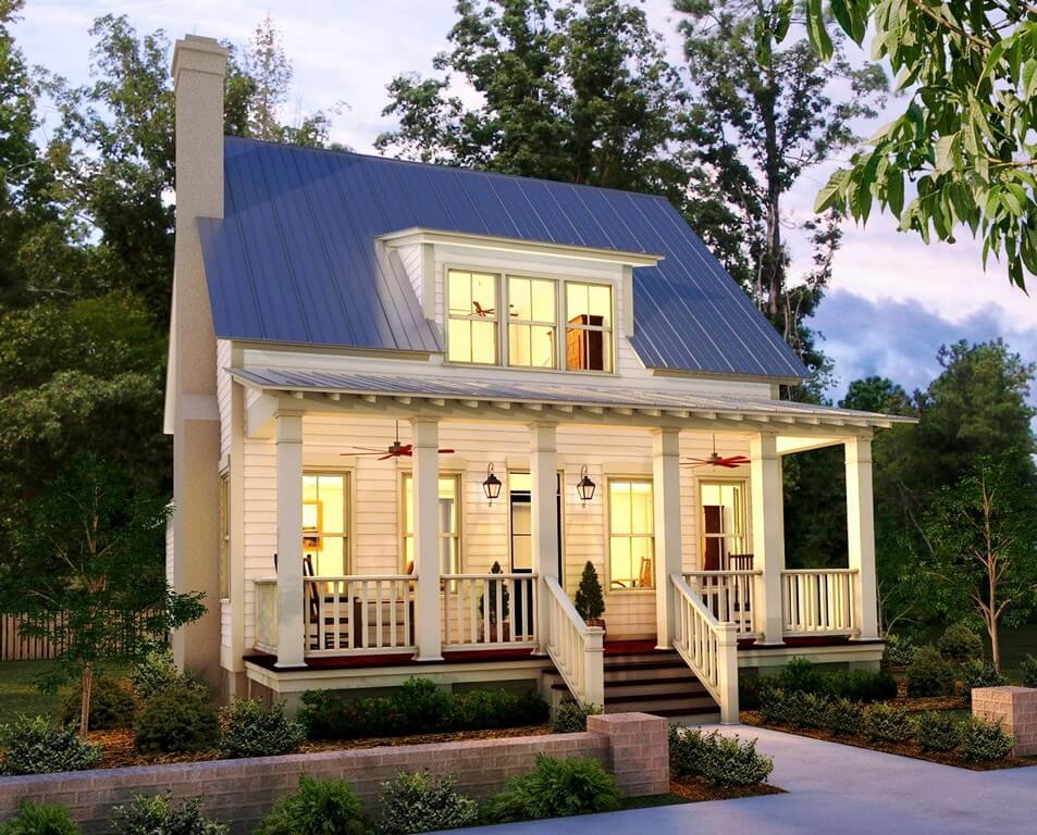 country house plans with photos