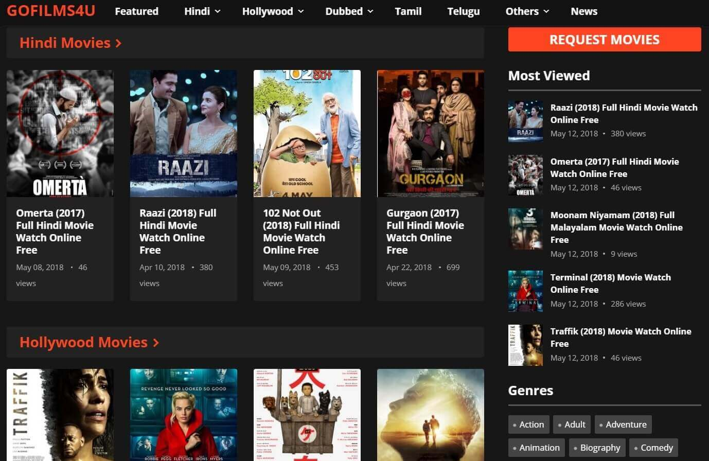 new latest hindi movie download site