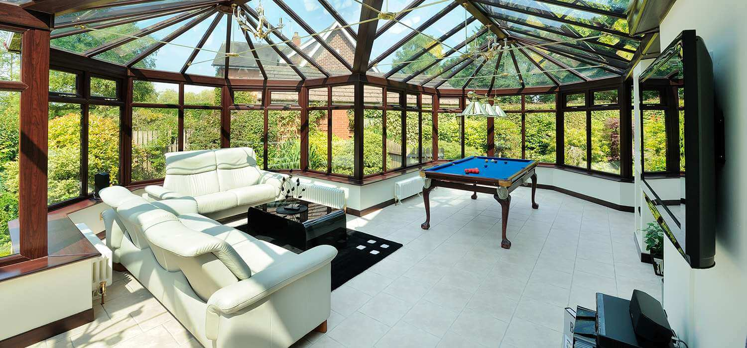 Benefits of adding a Conservatory to your Home - Range of Design Choices