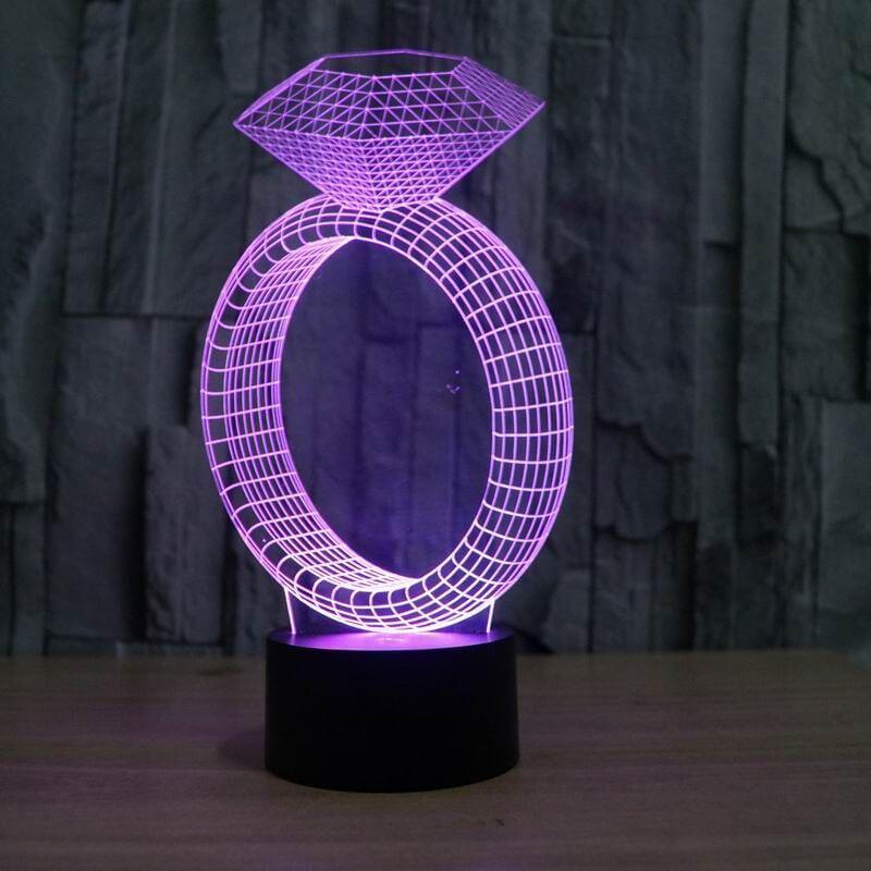 3d illusion lamp