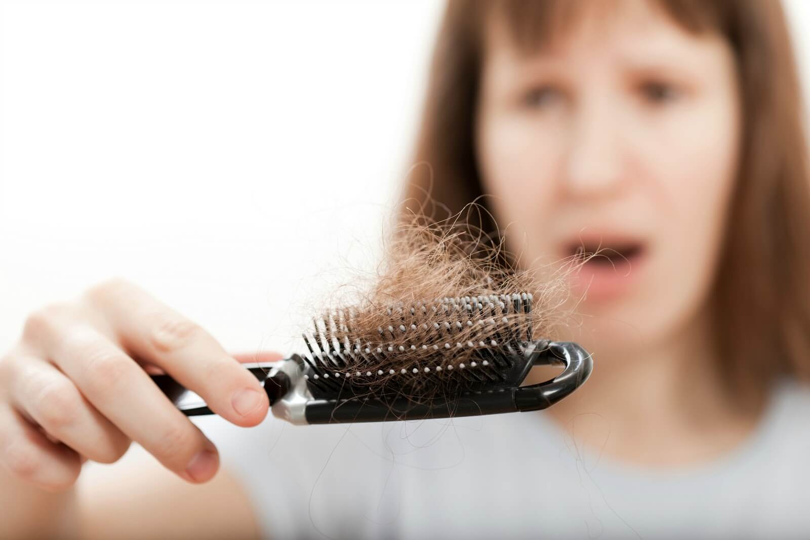 Dulling thinning hair - Early Signs of Aging