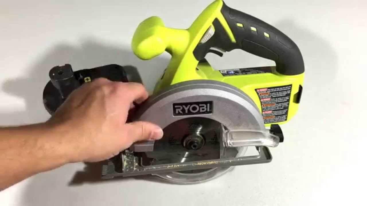 Ryobi P506 one+ saw