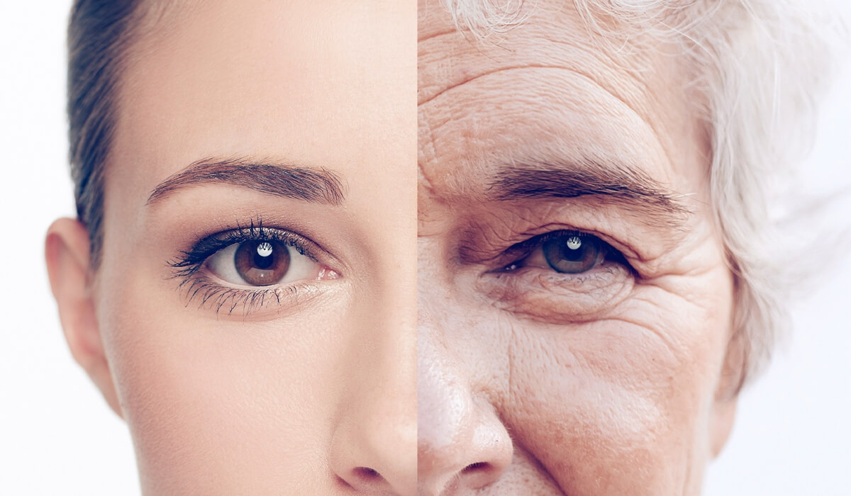 Thinning brows and lashes - Signs of Aging