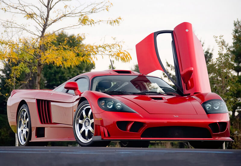Saleen S7 Twin Turbo (248 mph)