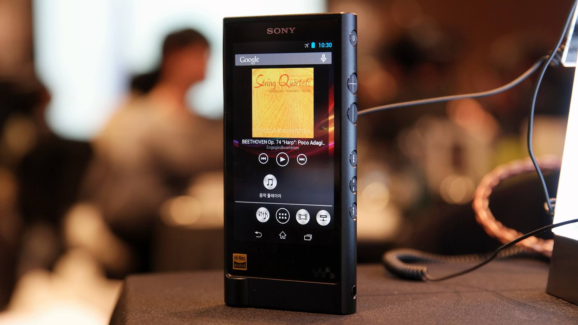 Walkman NW-ZX2 digital media player
